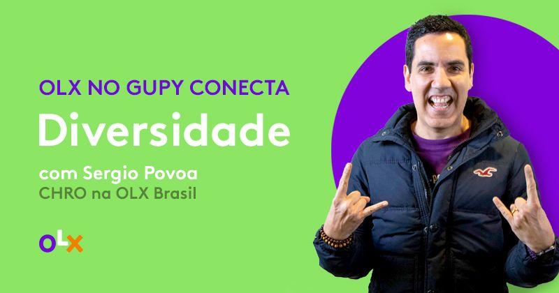 Imagem de capa da palestra de Sérgio Povoa no evento Gupy Conecta.