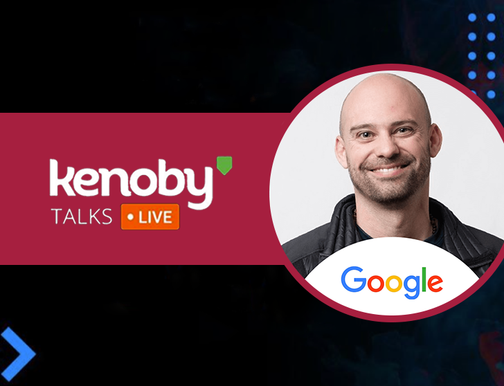 Imagem de capa da palestra de Adam Leonardi no evento Kenoby Talks.