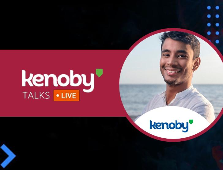 Imagem de capa da palestra de Augusto Barros no evento Kenoby Talks.